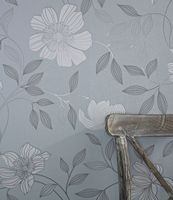 Graham and Brown Camille Duck Egg 20-803 Wallpaper